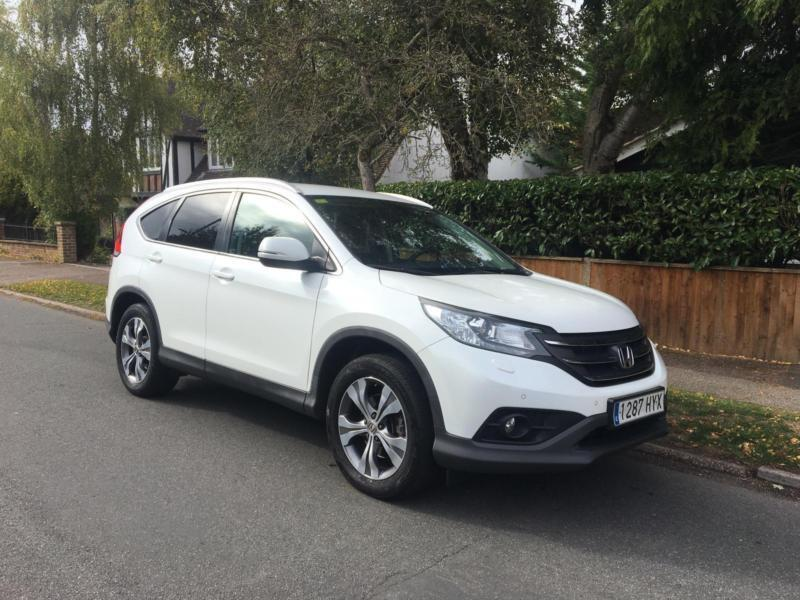 bf2344980f 2014 Honda CR-V 2.2 i-DTEC ( 150ps ) 4X4 WHITE LHD + LEFT HAND DRIVE + ONLY  68K