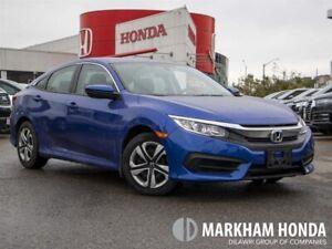 2018 Honda Civic LX - NO ACCIDENTS|BACKUP CAM|HEATED FRT SEATS|