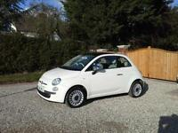 2011 Fiat 500 1.2 LOUNGE £30 PER YEAR TAX
