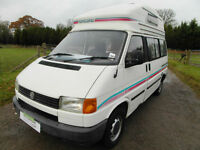 VW Autohomes Koncord - VW T4 - High Top - 4 Berth - Rock'n'Roll Bed