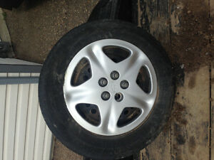 Used tires and parts