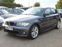 BMW 120D TD AUTO SE PLUS, FULL BLACK BOSTON LEATHER, 88,000 MILES