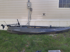 Old town ambush fishing/hunting boat.900.00 firm