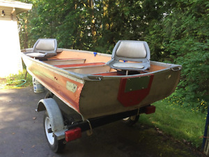 12 ft boat and trailer
