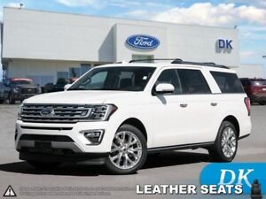 2018 Ford Expedition Limited Max 4WD w/Captain's Chairs, Leather
