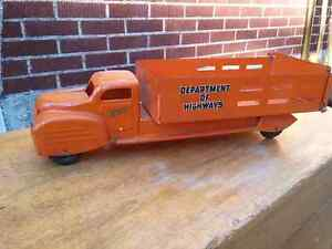 Vintage Collectible Tin Toys, Trucks, Cars