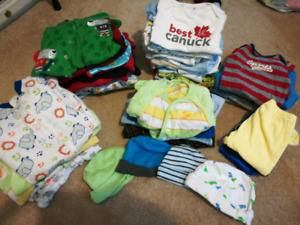 Huge baby boy fall/winter 0-3 month lot