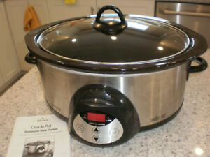 crock pot  (programmable)