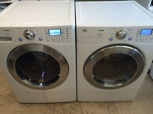 LG TROMM STEAM Laveuse Secheuse  Frontale Frontload Washer Dryer