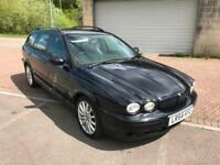 54 REG Jaguar X-TYPE 2.0D Sport Estate Turbo Diesel Jet Black Metallic