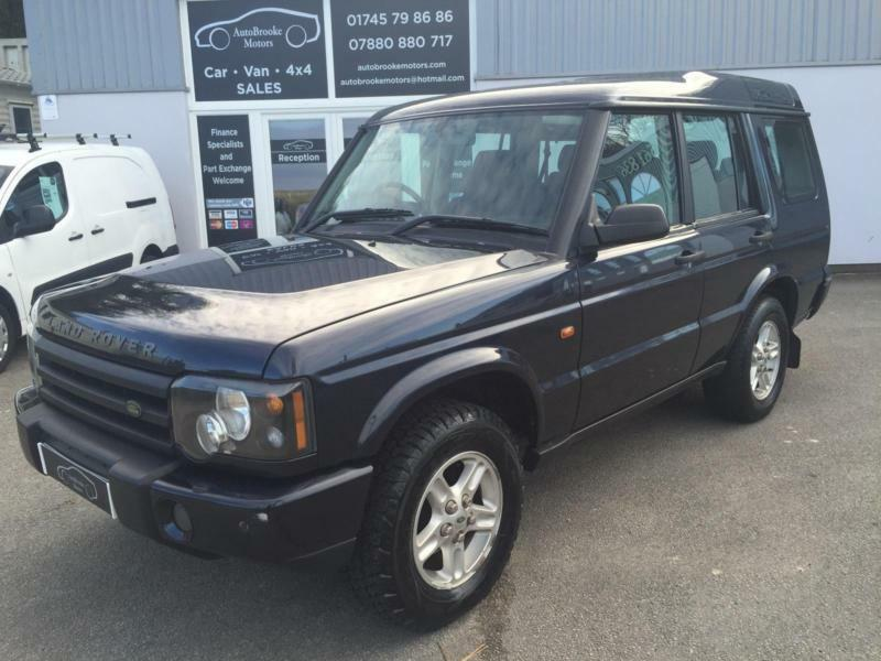 2003 53 land rover discovery 2 5 td5 s manual 7 seats 4x4. Black Bedroom Furniture Sets. Home Design Ideas