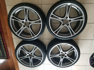 """BMW 20"""" OEM WHEELS AND TIRES"""