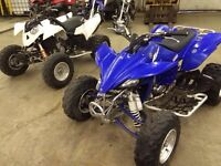 2007 YZ450F and a 2007 Polaris outlaw