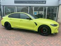 2021 BMW 3 Series M3 Competition Auto 4/dr Saloon Petrol Automatic
