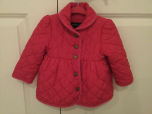 EUC Ralph Lauren Baby Winter Coat