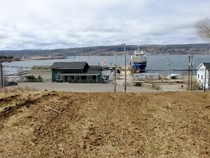 Cape Breton-Land for Sale with Water View of the Canso Causeway