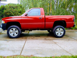 1996 dodge 1500 4x4 lifted 6 inch