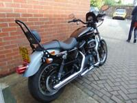 2013 (63) HARLEY DAVIDSON 883 XL ROADSTER WITH 1200CC ENGINE UPGRADE