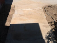 Concrete driveway and sideway to house redo