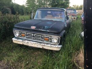 Unibody and regular 1963,1964 ford trucks package deal