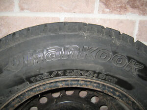 2 Snow tires for sale