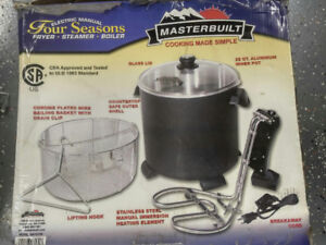 Electric Turkey & Seafood Cooker For Sale - Like NEW