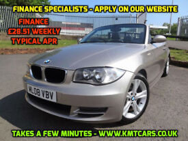 2008 BMW 120 2.0i SE Cabriolet - ONLY 58000mls - KMT Cars