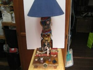 1 of a kind pirates of the... original table or desk lamp.