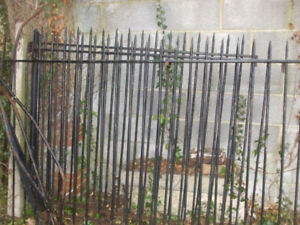 ISO old iron / steel / fence / deck panels / railings