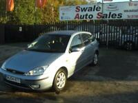 2004 54 FORD FOCUS 1.8 GHIA 5 DOOR VERY CLEAN FOR ITS YEAR