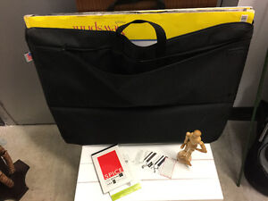 Large size art paper and canvas bag