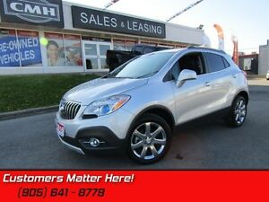2016 Buick Encore Leather   BLUETOOTH! GREAT CLICKS! REAR CAM!