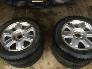 "20"" Ford F-150 Tires and Rims"