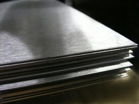 Stainless Steel Sheets 2500x1250mm Brushed 430 Grade Ideal For Takeaways * Cafes * Restaurants