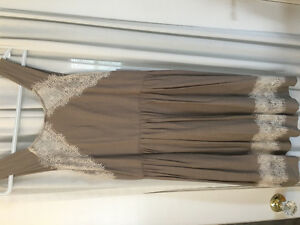 Free People beige/lace summer dress, NWT