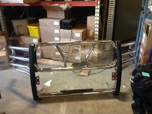 USED GRILLE GUARD FOR 2010-13 DODGE RAM 2500/3500