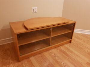 *** TV Stand with Rotating Pad ***