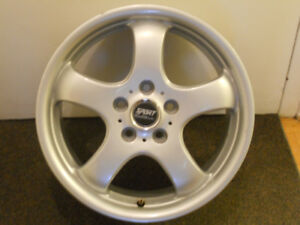"""For sale """"As Is"""" Kosei Sport Edition used rims 16"""", 5 bolts with"""