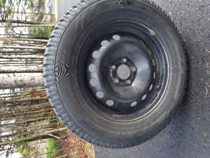 TOYO WINTER TIRES AND RIMS, 235/60/R16