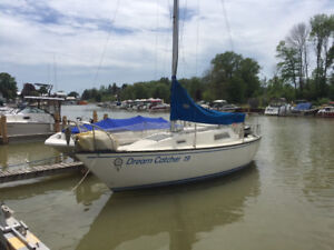 San Juan 23' Sailboat - Great Condition - $9000 OBO