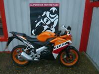 Honda CBR125 2015 125 Repsol Edition Sports Bike Learner Legal FSH GSXR R125 RC