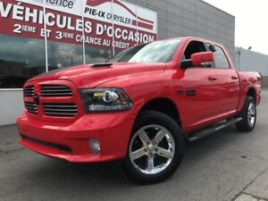 Ram 1500 CREW+SPORT+TOIT+MAGS+NAVIGARION+WOW! 2016
