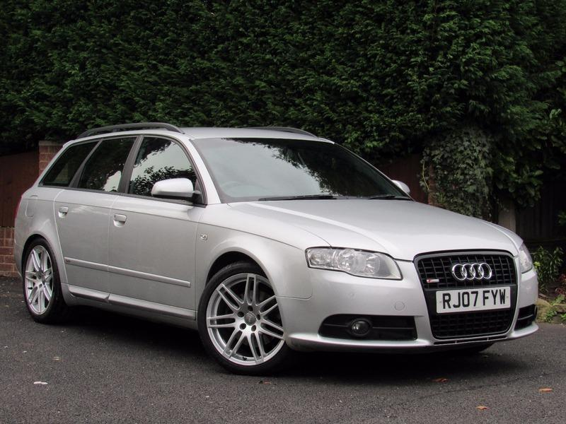 2007 audi a4 avant 2 0 tdi s line special edition quattro. Black Bedroom Furniture Sets. Home Design Ideas