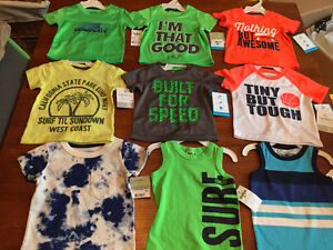 New! Osh Kosh and carters tshirts and tanks size 3 months Kitchener / Waterloo Kitchener Area image 3