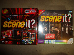 SCENE IT DVD GAMES BRAND NEW