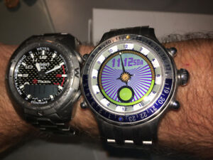 YES Zulu Titanium Watch (2007)