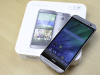 Brand New HTC ONE M8 4g LTE Unlocked In Grey