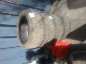 Good condition quality tires.
