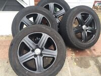 "18"" Alloy Wheels with Tyres"
