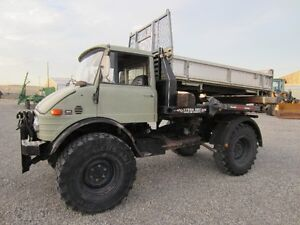 Unimog 416 w/ bale deck & dump box for sale! $43,900.00